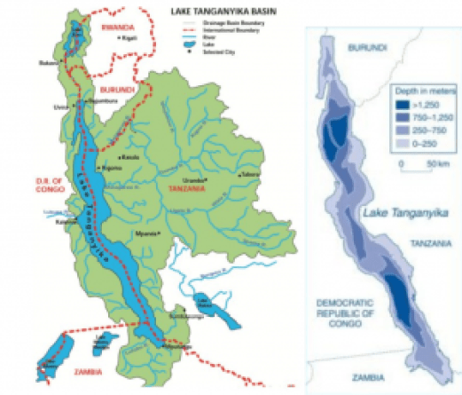 source: Hydrology and hydraulic modeling of Lake Tanganyika. Otieno Odongo 2013