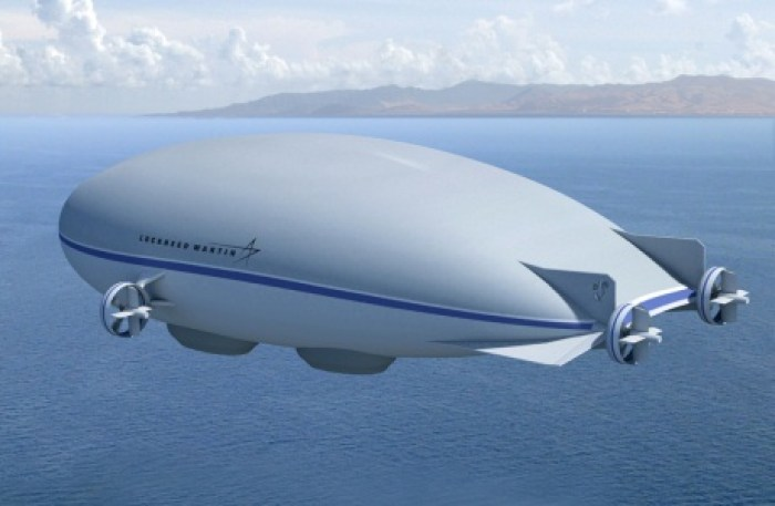 Our LLAMA, the Graf, would not be too dissimilar visually from this airship hybrid proposal by Lockheed Martin. (Lockheed Martin Corporation)