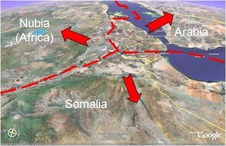 The Afar triple junction