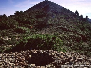 Hionesa peak on Methana. source: greece.com