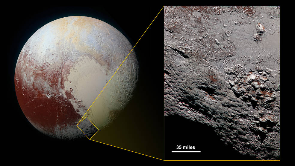New Horizons: News from Pluto | VolcanoCafe