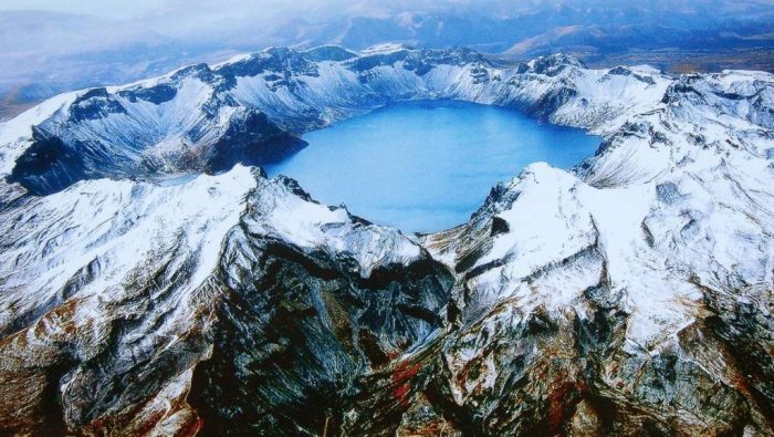 Changbai mountain, after the milliennium eruption