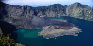 Rinjani, one of the volcanoes  accused (falsely, in my opinion) of starting the Little Ice Age