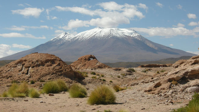 Uturunca, in Bolivia, has risen by 50cm over the past 20 year.