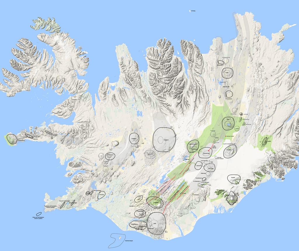 Iceland Full Map
