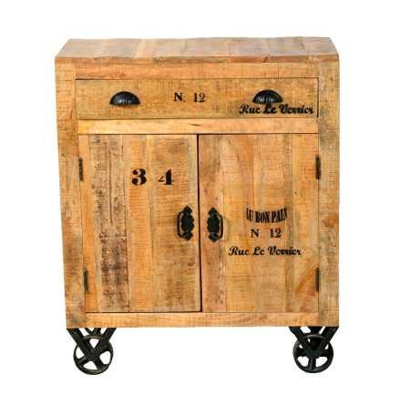 Rustic -sarjan 80 cm leveä laatikosto / lipast