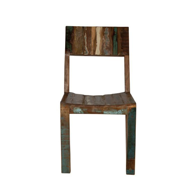 Fridge -sarjan värikkääksi maalattu tuoli