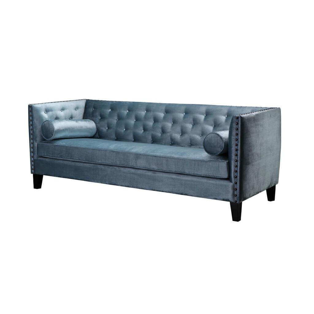 Sohva, siniharmaa