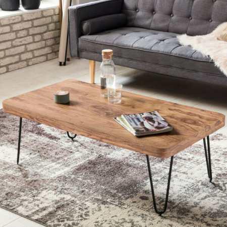 Bagli akaasia sohvapöytä