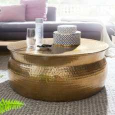 Karam sohvapöytä kulta 75 cm