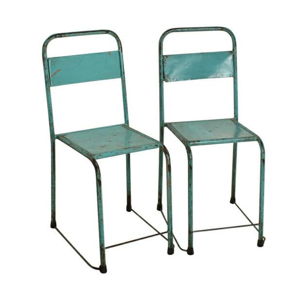 Java tuoli turkoosi/vihreä 2-setti