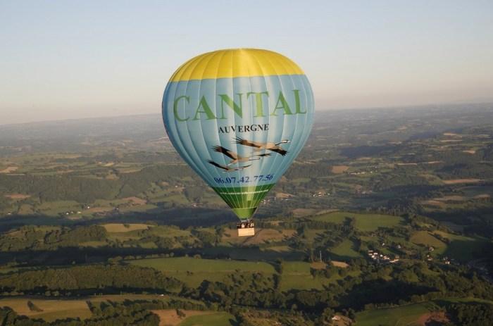 Mongolfière Cantal Auvergne