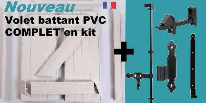 Volet Battant Pvc En Kit Volet Battant Et Roulant En Pratique