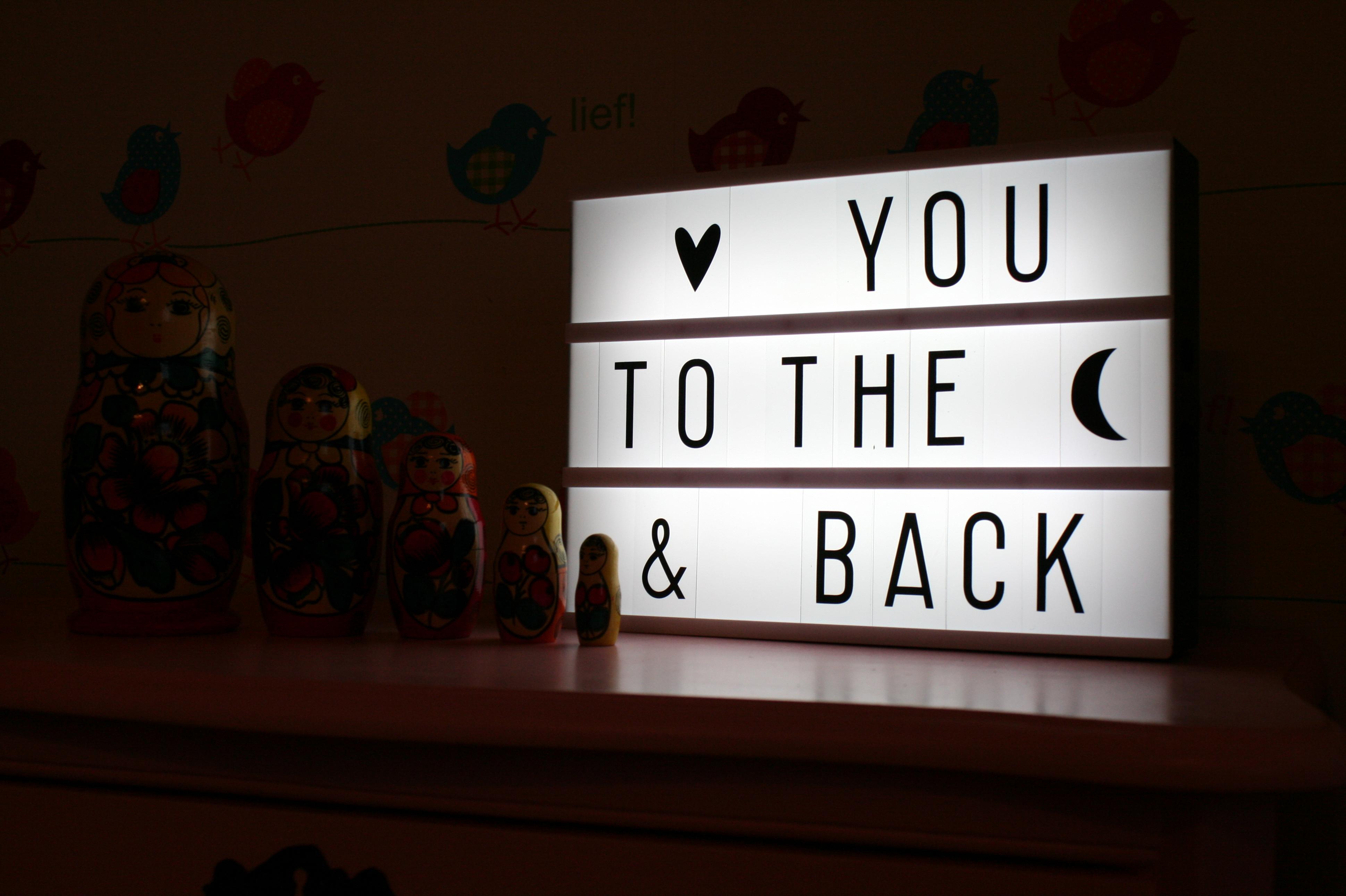 Coole Letters Babykamer : Een lightbox in de babykamer volgmama