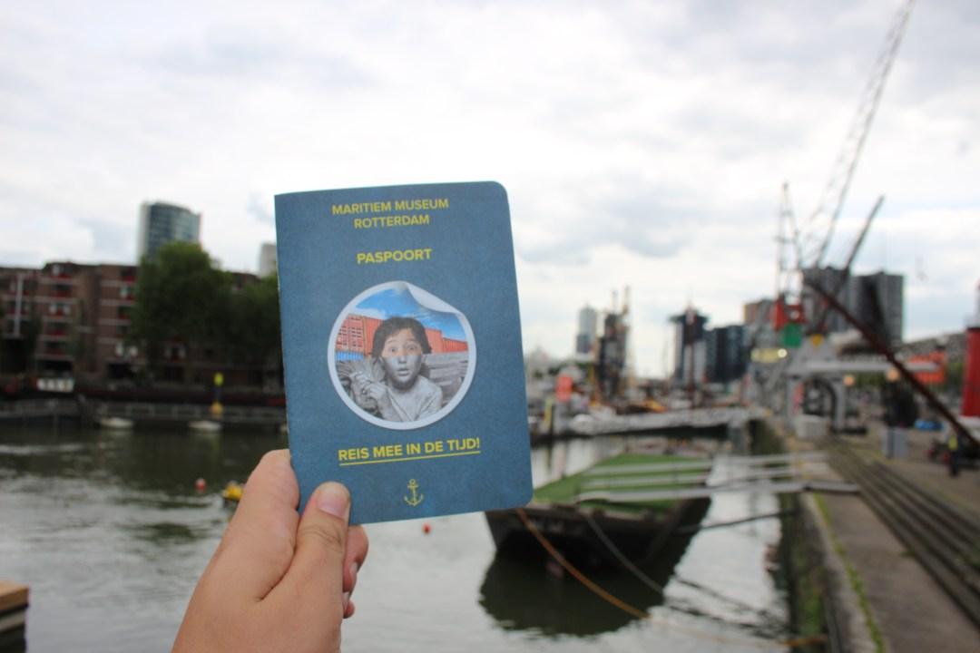 Paspoort vakantie Maritiem Museum