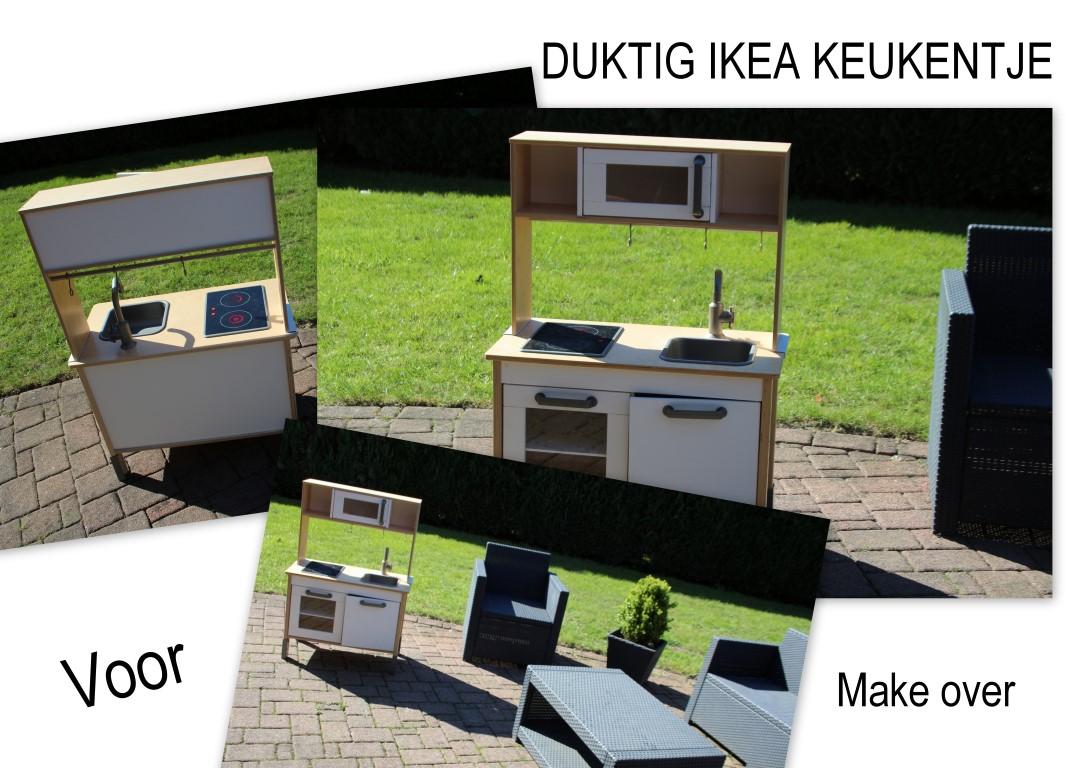 ikea duktig speelkeukentje snelle make over met stickers led en meer. Black Bedroom Furniture Sets. Home Design Ideas