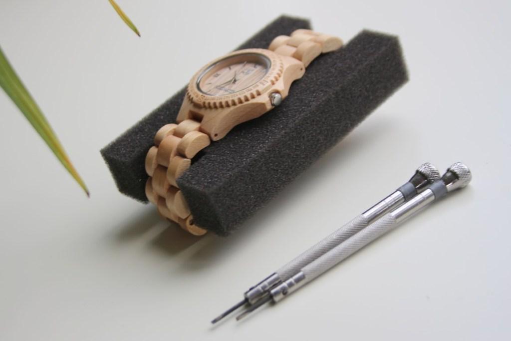 greenwatch-horloge-verstellen