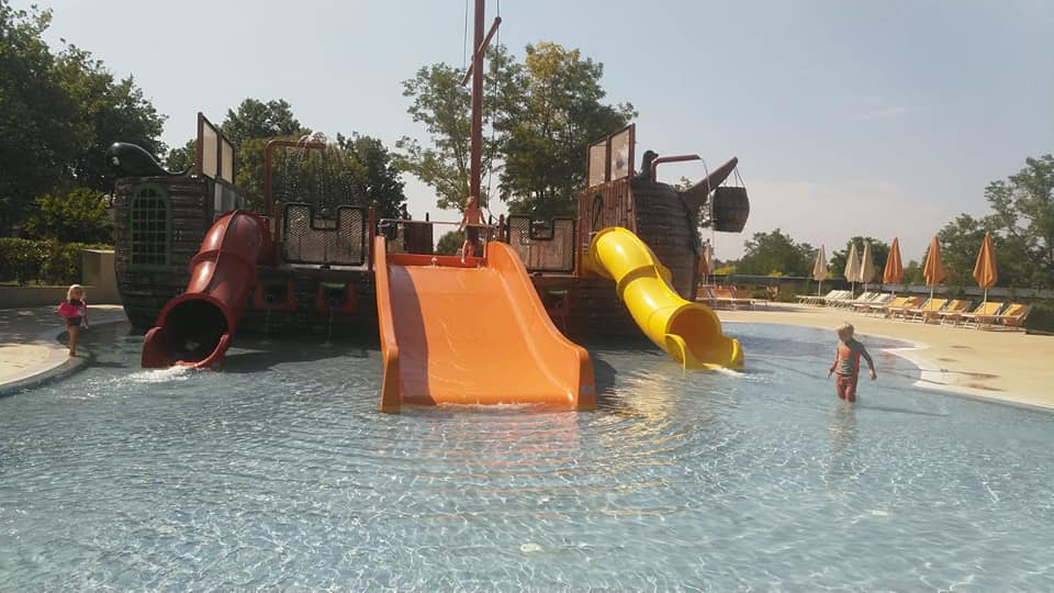 Familie waterpark camping resort Lanterna