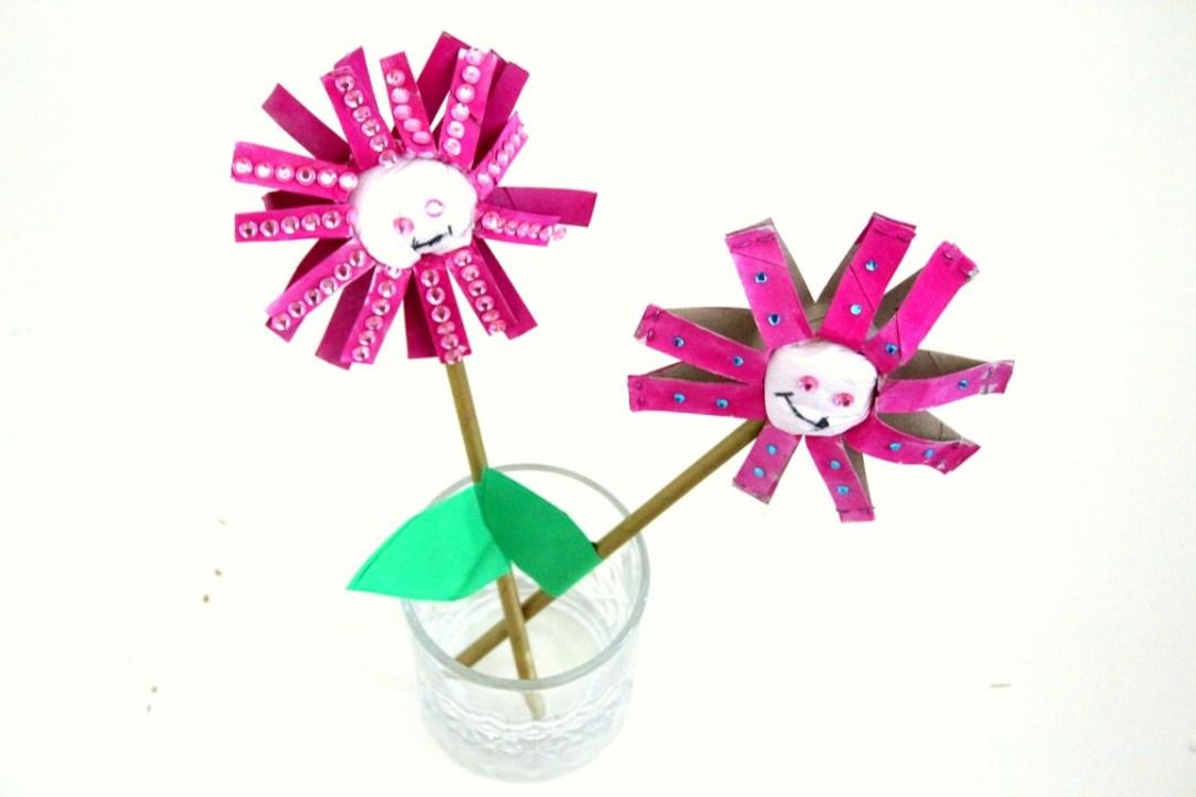 bloemen-knutselen