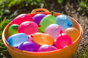 waterballonnen-spelletjes