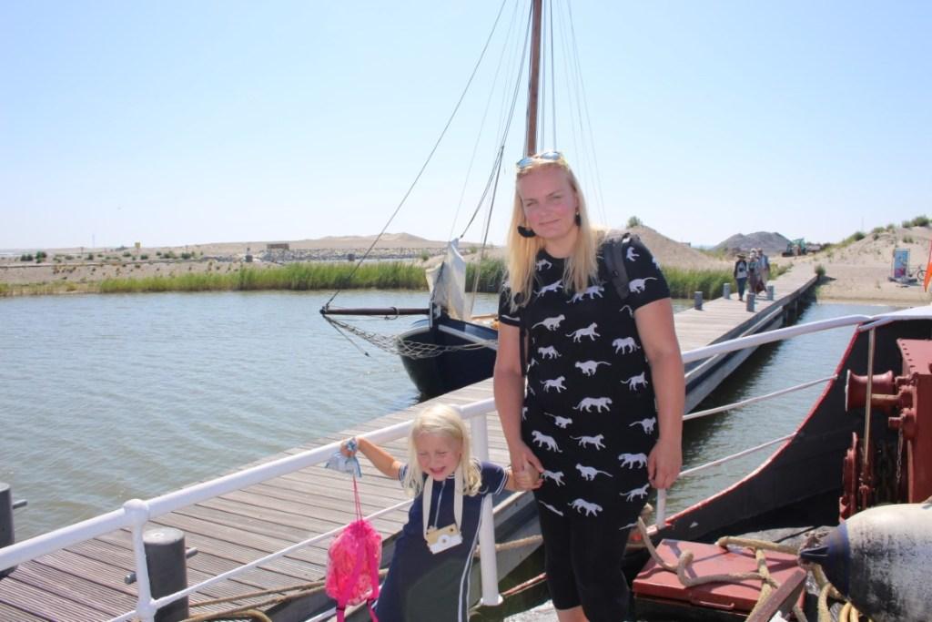 Ms Waddenzee Vaartocht met kinderen naar het Marker Wadden