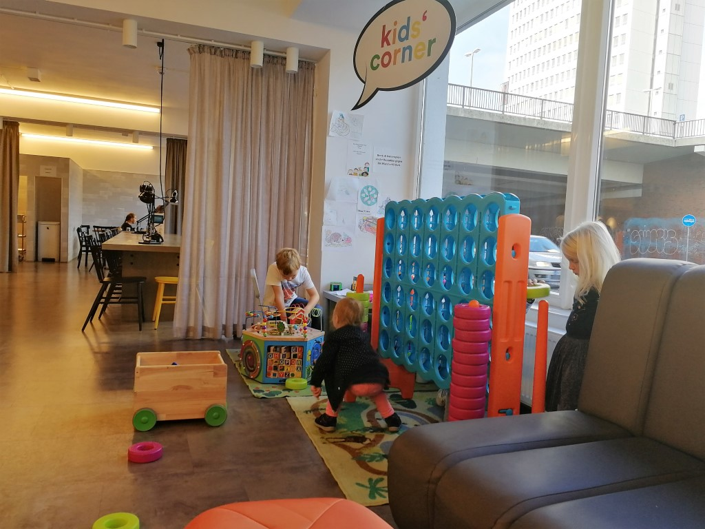 A&O Bremen Hauptbahnhof kidscorner speelhoekje