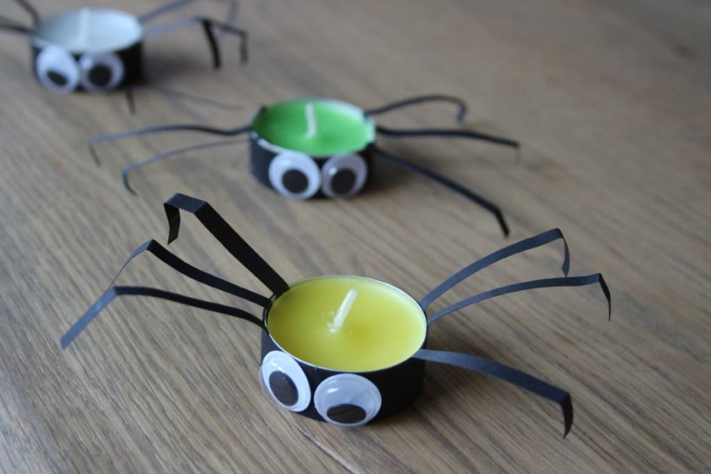 Halloween knutseltips - Spinnen knutselen met kinderen
