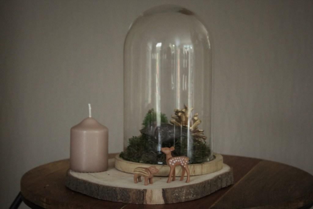 Herfst Stolp maken - Glazen stolp decoratie Herfst