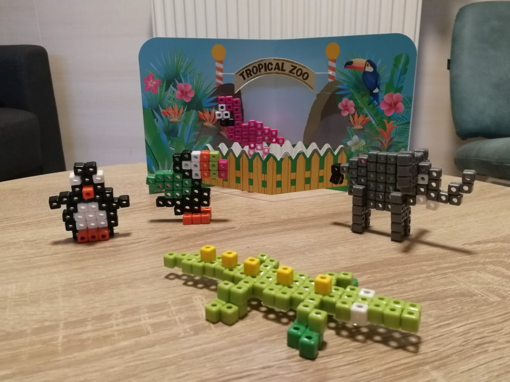 Review Totum Tropical Zoo knutselset