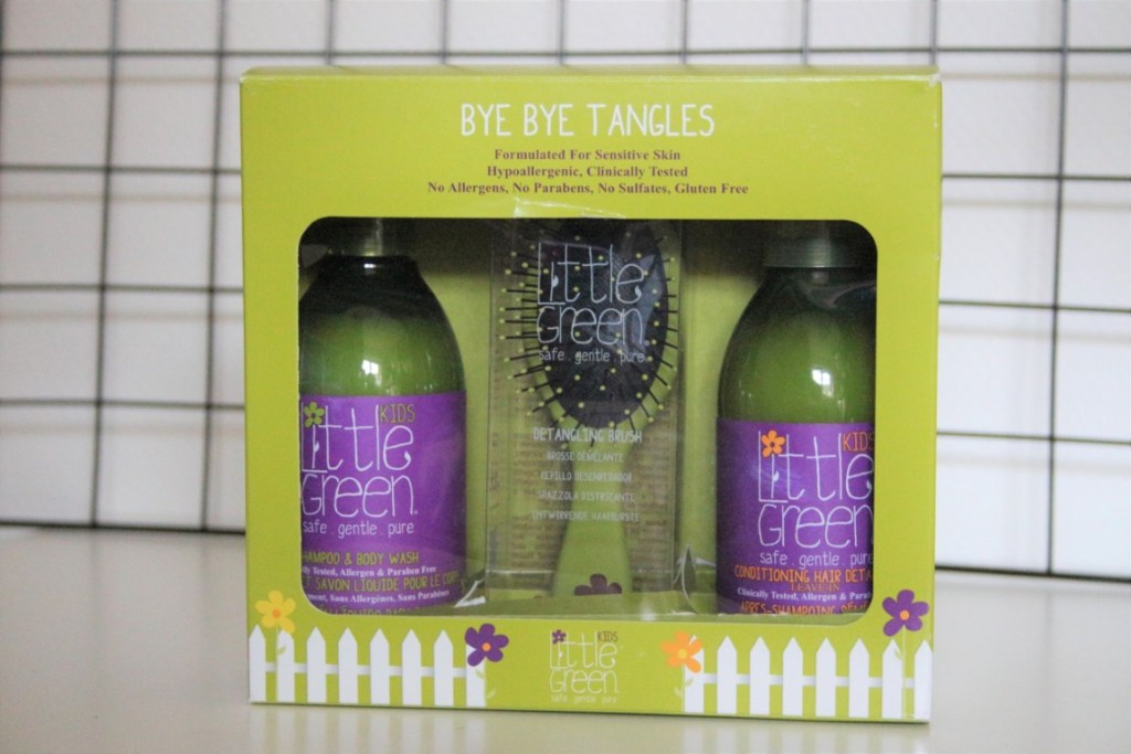 Review Little Green Haircare - No more tangles
