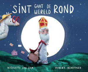 Sint gaat de werel rond - Sinterklaasboeken actie supermarkt