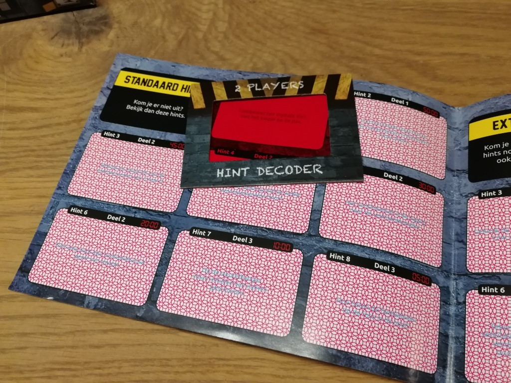 Review Escape Room spel