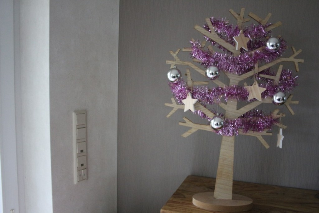 Houten seizoensboom kerst winter