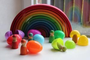 Plastic eieren om te vullen - Leuke spelletjes en activiteiten voor kinderen