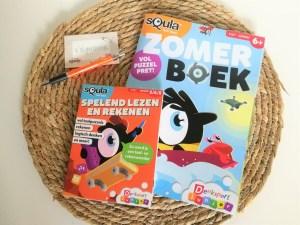 Squla zomerboek puzzelboek review winactie blog