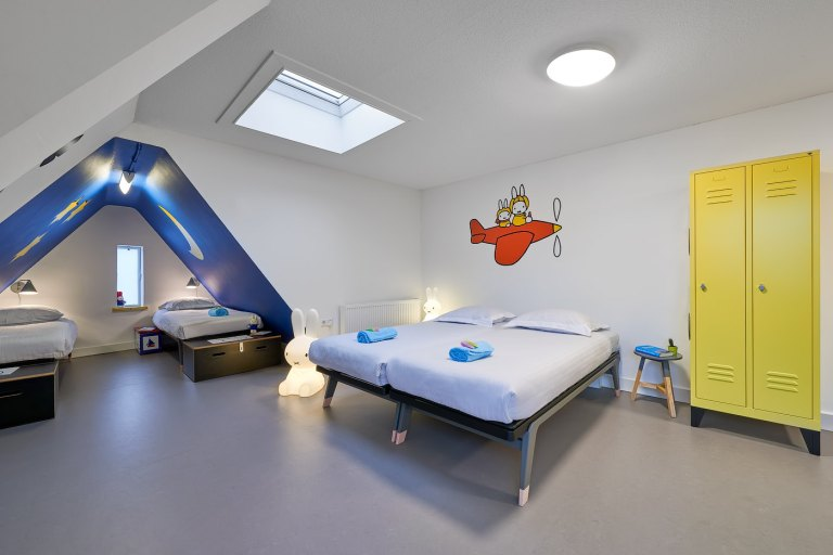 nijntje uitje nederland - overnachten nijntje hotelkamer utrecht