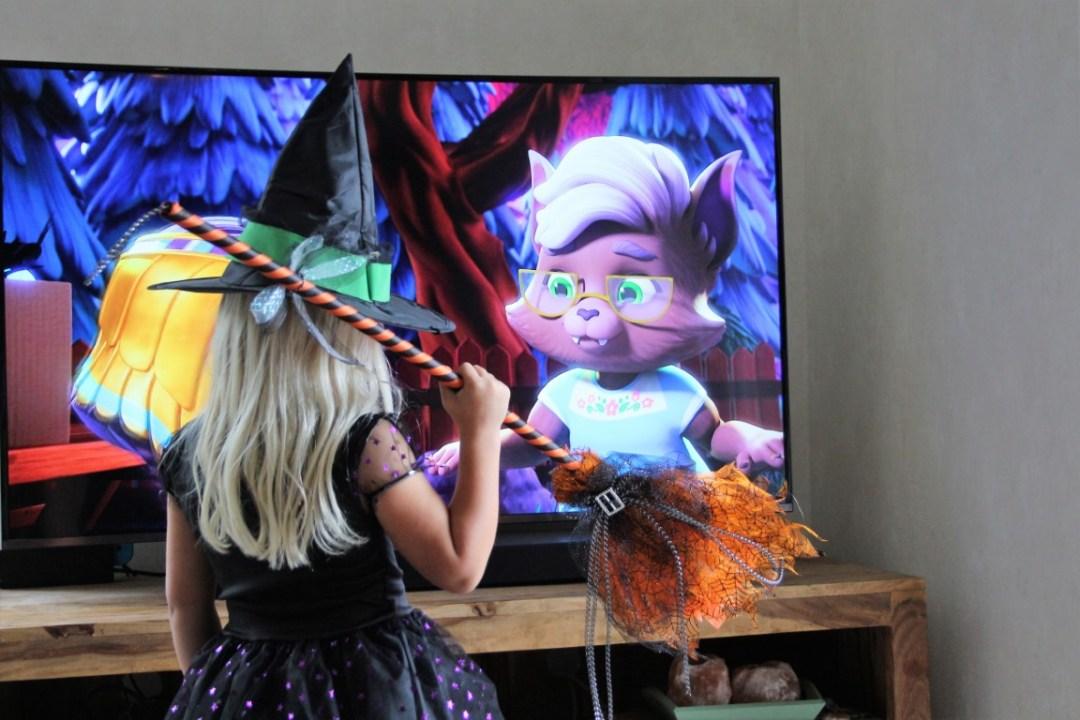 Griezelfilms voor Halloween met kleine kinderen