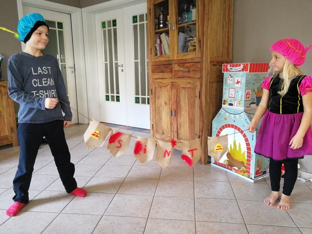 Little creations Sinterklaas knutselen