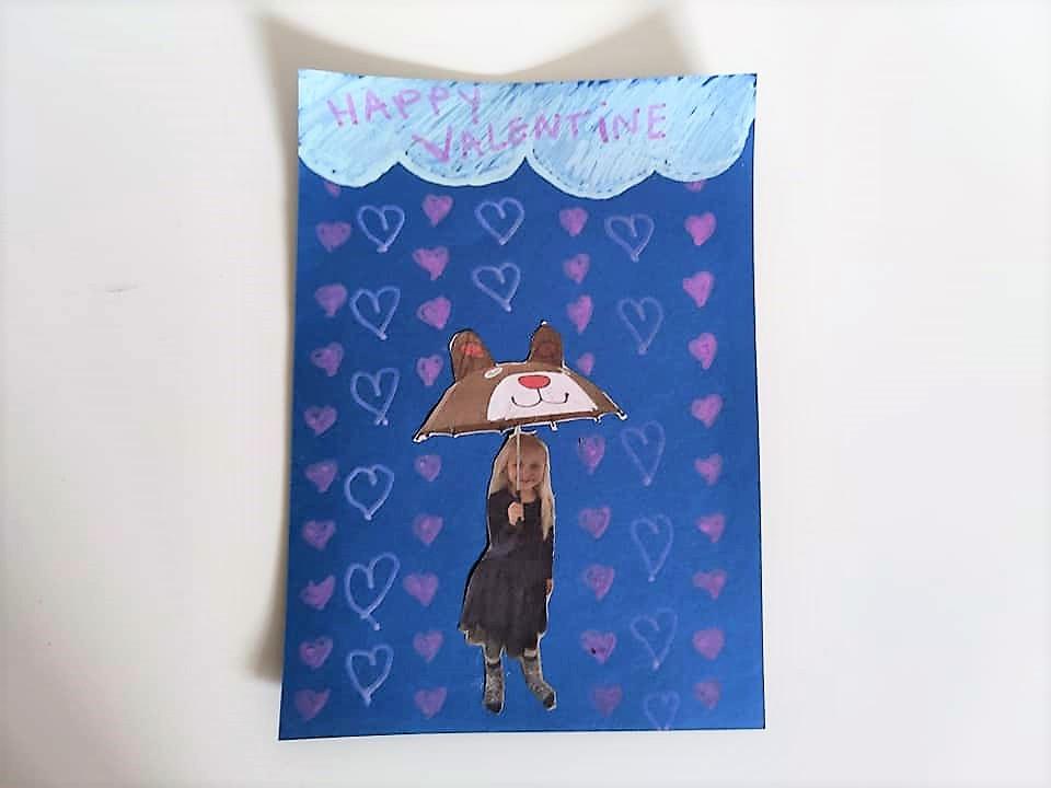 Valentijnsdag kaart maken knutselen met kinderen