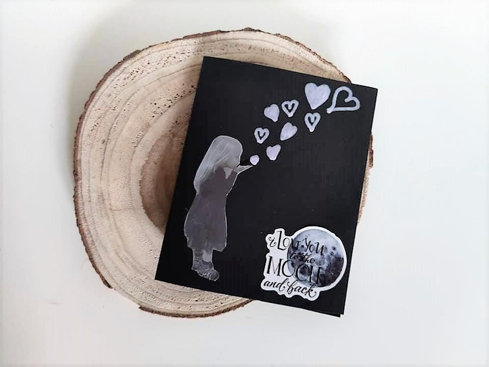 Valentijnskaart knutselen met kinderen en foto
