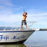 Half Cast Charters Fishing Boat