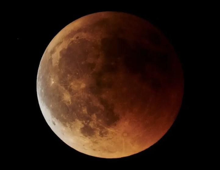 Mondfotografie Mondfinsternis 2018