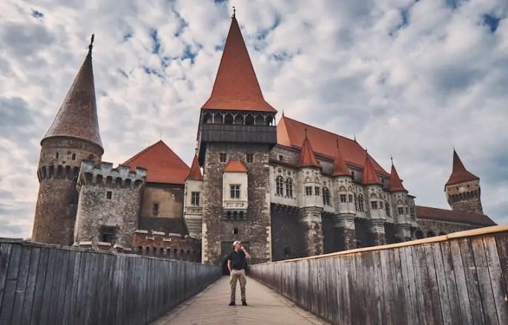 Sigma 16mm 14- Architektur: Burg Hunedoara