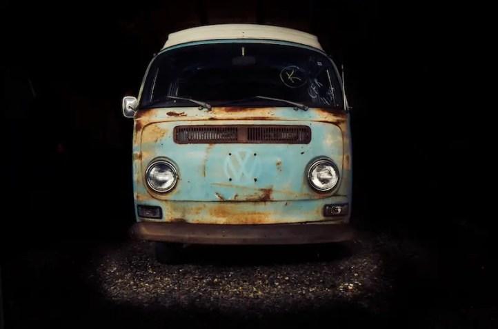 Sigma 16mm 1.4 - Produktfotografie: Oldtimer VW T2 Camper