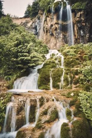 Wasserfall Pisoaia in Rumänien