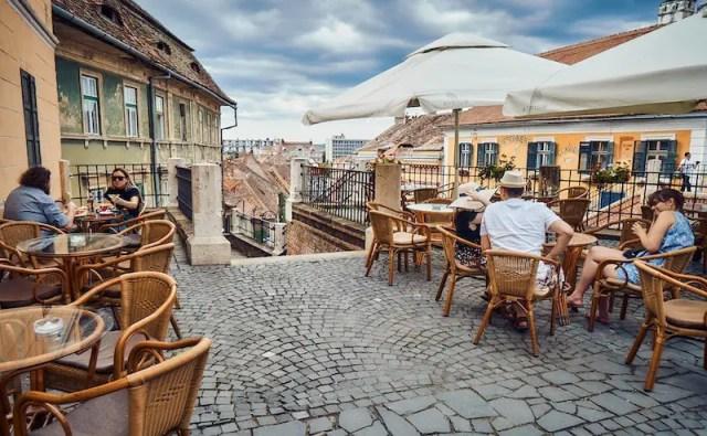 Sibiu Hermannstadt - Atrium Cafe