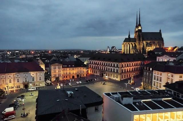 Brünn - Aussicht aus dem Rathausturm