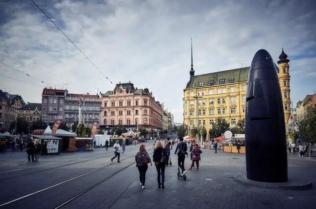 Brünn - der Freiheitsplatz