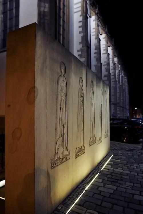 Brünn - Die Ossuaries unter der Kirche St. Jakob
