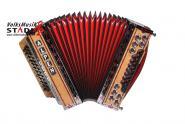 "Alpen Harmonika Classic ""Vogelaugenahorn"" G C F B"